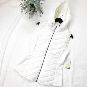 Zella • Zelprotek Outdoor Puffer Vest White Large